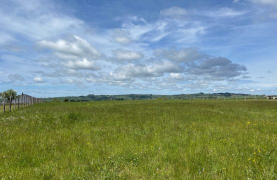 Terrain 1351 m2 – Castanet – Vue dégagée